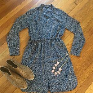 Ann Taylor Button-down Shirtdress SZ XS